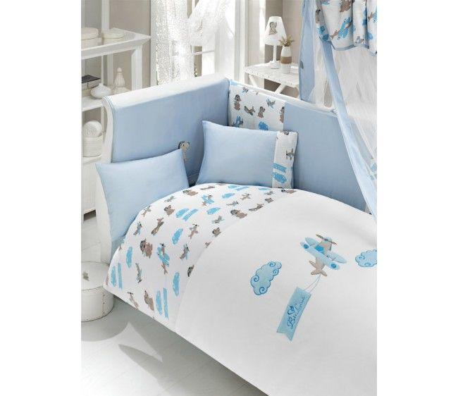 Комплект постельного белья из 3 предметов серия Puffy PilotДетское постельное белье<br>Комплект постельного белья из 3 предметов серия Puffy Pilot<br>