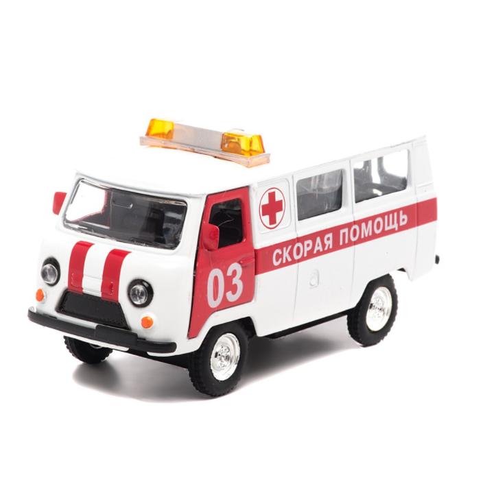Инерционная машина УАЗ-396259 - Скорая помощь, свет, звук от Toyway
