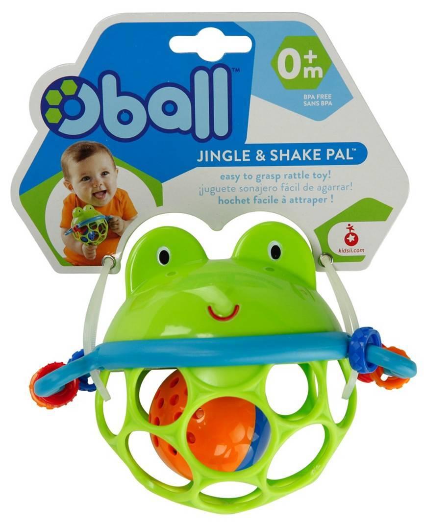 Развивающая игрушка-мяч - ЛягушонокДетские развивающие игрушки<br>Развивающая игрушка-мяч - Лягушонок<br>