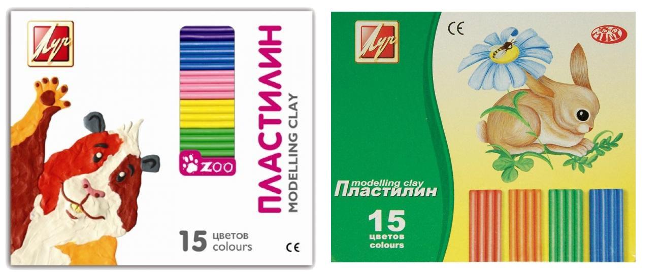 Пластилин из серии Зоо-мини, 15 цветовНаборы для лепки<br>Пластилин из серии Зоо-мини, 15 цветов<br>