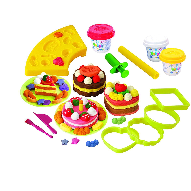 Набор с пластилином – ПирожныеНаборы для лепки<br>Набор с пластилином – Пирожные<br>