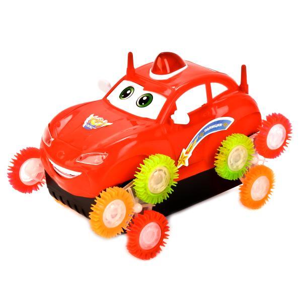 Машина-перевертыш, свет и звукПолицейские машины<br>Машина-перевертыш, свет и звук<br>