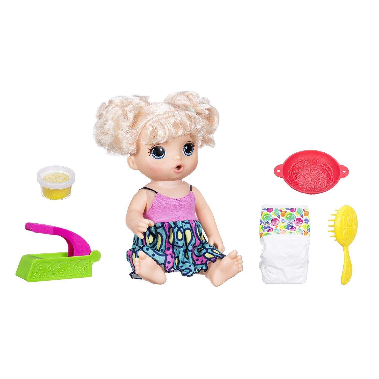 Кукла Baby Alive - Малышка хочет есть, 33 смИнтерактивные куклы<br>Кукла Baby Alive - Малышка хочет есть, 33 см<br>