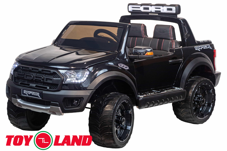 Электромобиль джип Raptor Ranger, черный