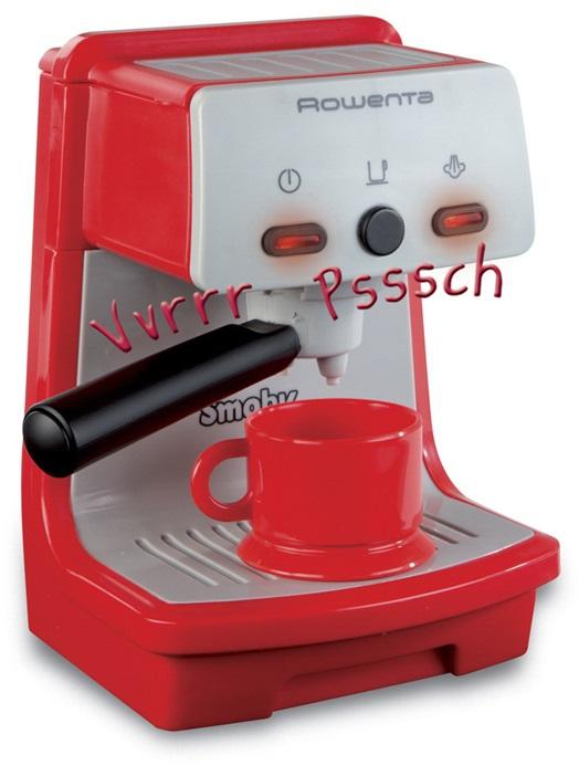 Игрушечная кофеварка Rowenta - Аксессуары и техника для детской кухни, артикул: 97161