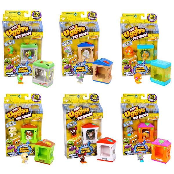 Игровой набор Ugglys Pet Shop – Домик с фигуркойМУЛЬТ ГЕРОИ<br>Игровой набор Ugglys Pet Shop – Домик с фигуркой<br>