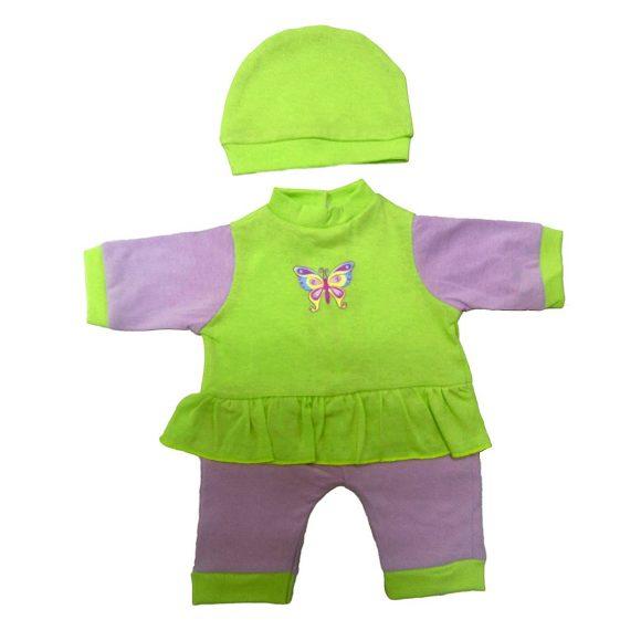 Одежда для куклы 38-43 см - комбинезон с шапочкой БабочкаОдежда для кукол<br>Одежда для куклы 38-43 см - комбинезон с шапочкой Бабочка<br>