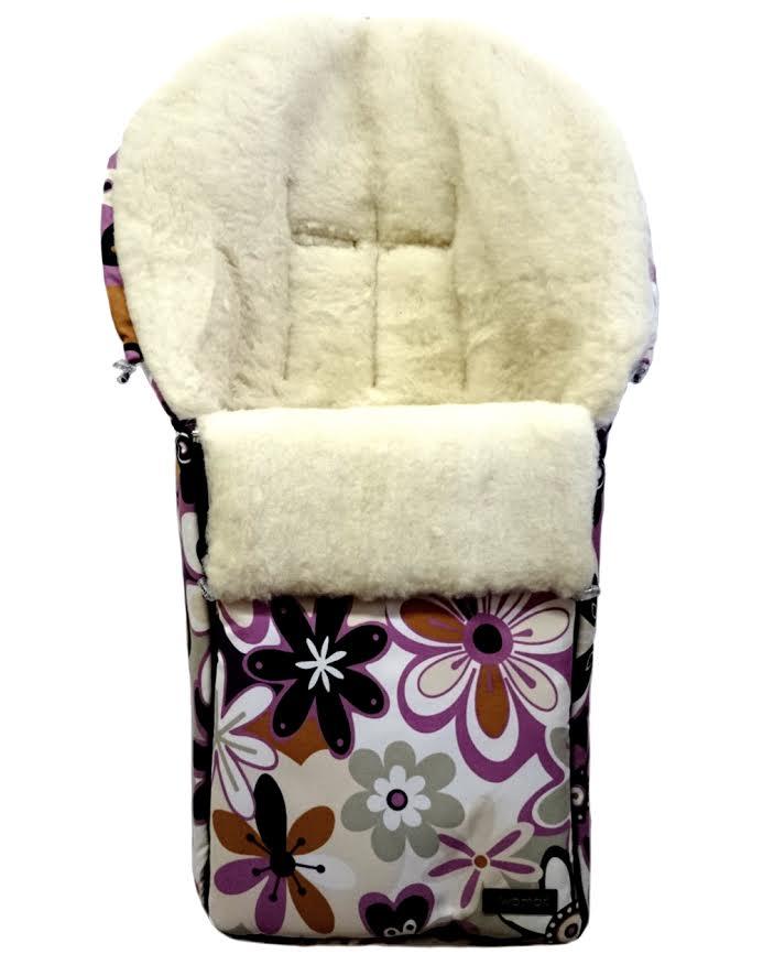 Спальный мешок в коляску №06 – Aurora, 17 цветки