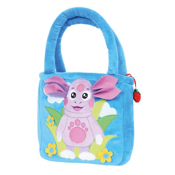 Мягкая сумочка из серии Лунтик, 24 см.Детские сумочки<br>Мягкая сумочка из серии Лунтик, 24 см.<br>