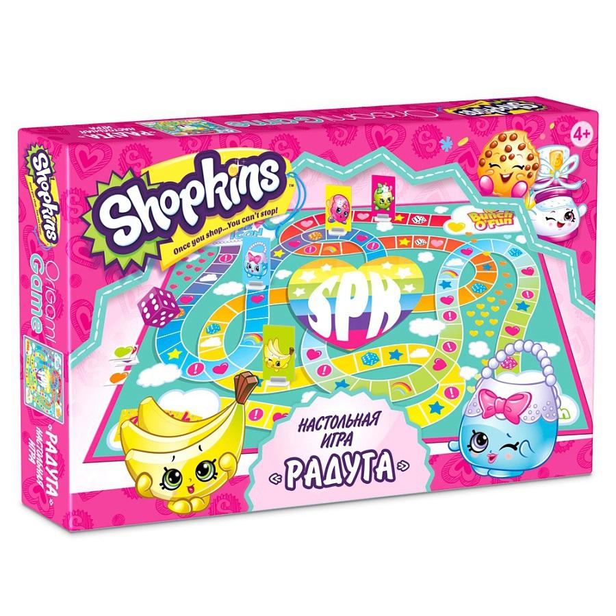 Игра настольная из серии Shopkins – РадугаShopkins (Шопкинс)<br>Игра настольная из серии Shopkins – Радуга<br>