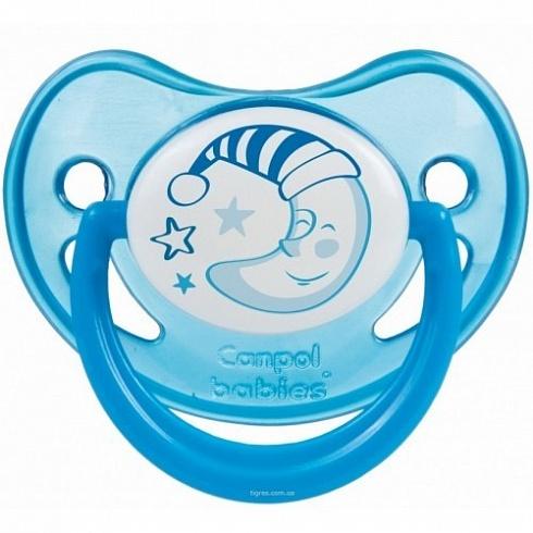 Соска-пустышка силиконовая ортодонтическая - Night dreams, 6-18 месяцевТовары для кормления<br>Соска-пустышка силиконовая ортодонтическая - Night dreams, 6-18 месяцев<br>