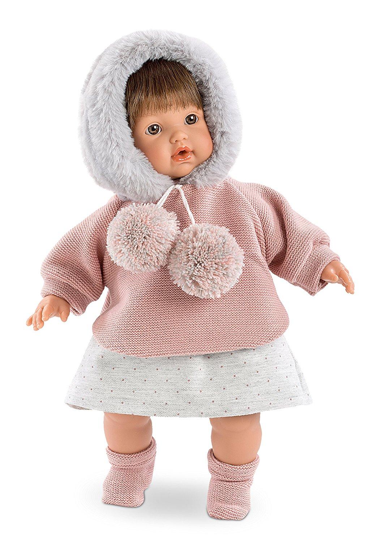 Кукла Айсель, озвученная, 33 см.Испанские куклы Llorens Juan, S.L.<br>Кукла Айсель, озвученная, 33 см.<br>