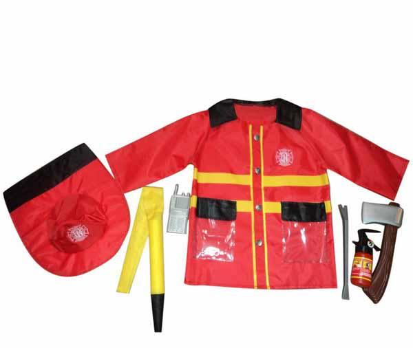 Костюм из серии Важная работа – Форма пожарного, 7 предметов с аксессуарамиНаборы полицейского и пожарного<br>Костюм из серии Важная работа – Форма пожарного, 7 предметов с аксессуарами<br>