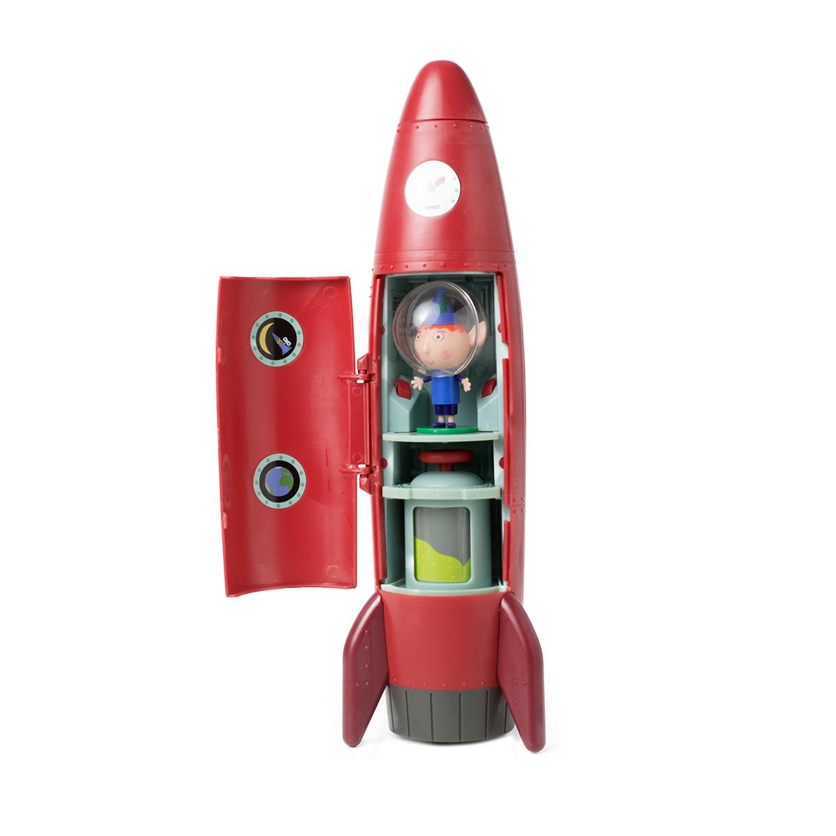 Игровой набор Ракета со звуком с фигуркой Бена. Серия - Бен и ХоллиМаленькое королевство Бена и Холли<br>Игровой набор Ракета со звуком с фигуркой Бена. Серия - Бен и Холли<br>