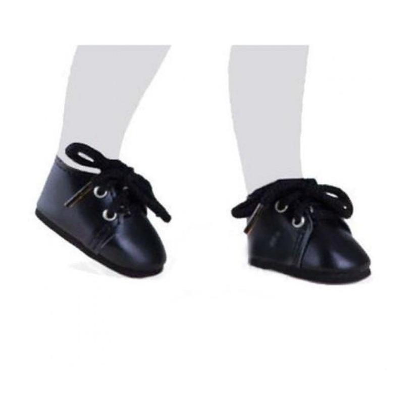 Купить Полуботинки черные со шнурками, для кукол 32 см, Paola Reina