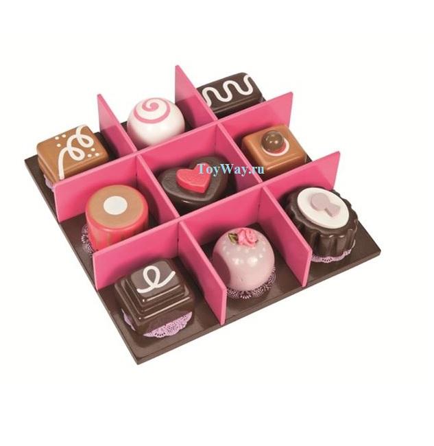 Игровой набор «Коробка с шоколадом»Аксессуары и техника для детской кухни<br>Игровой набор «Коробка с шоколадом»<br>