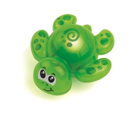 Игрушка детская для ванной – Черепашка, со световым эффектомИгрушки для ванной<br>Игрушка детская для ванной – Черепашка, со световым эффектом<br>