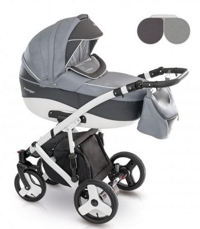 Детская коляска Camarelo Avenger Standart 2 в 1, сераяДетские коляски 2 в 1<br>Детская коляска Camarelo Avenger Standart 2 в 1, серая<br>