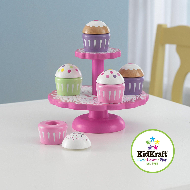 Игровой набор для детской кухни – КапкейкиАксессуары и техника для детской кухни<br>Игровой набор для детской кухни – Капкейки<br>