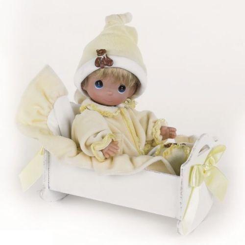 Кукла Precious Moments - Рок-бай младенцев, мальчик, 21 смПупсы<br>Кукла Precious Moments - Рок-бай младенцев, мальчик, 21 см<br>