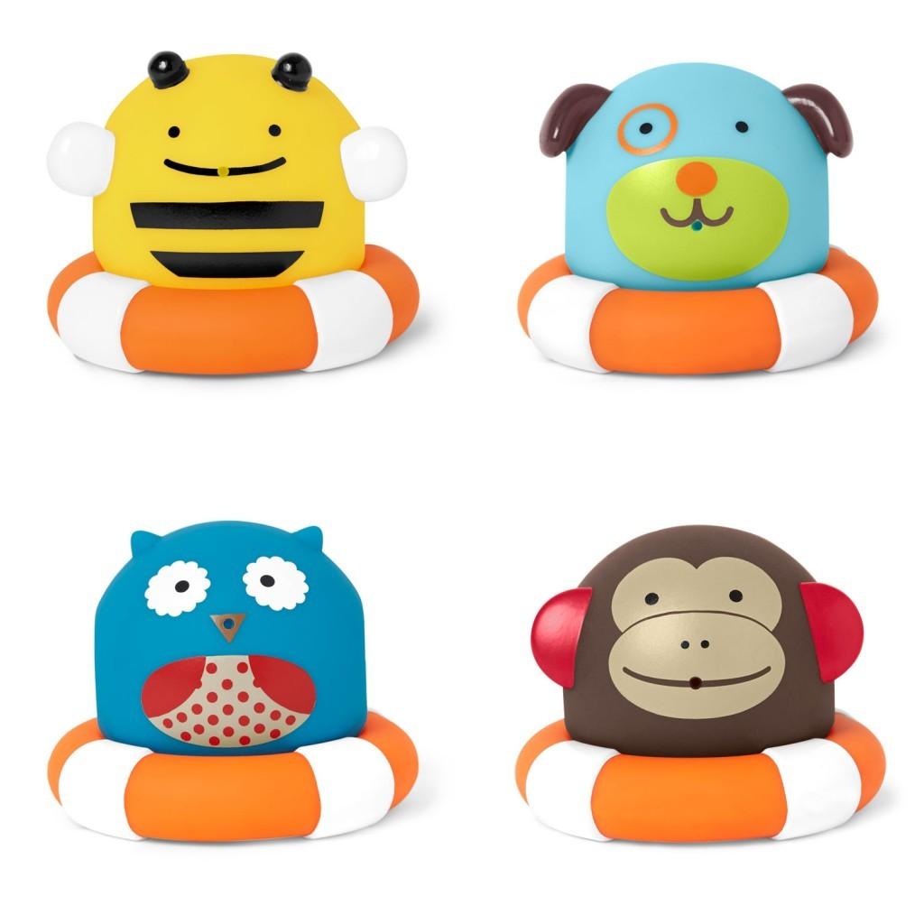 Игровой набор для ванной из серии ZooРезиновые игрушки<br>Игровой набор для ванной из серии Zoo<br>