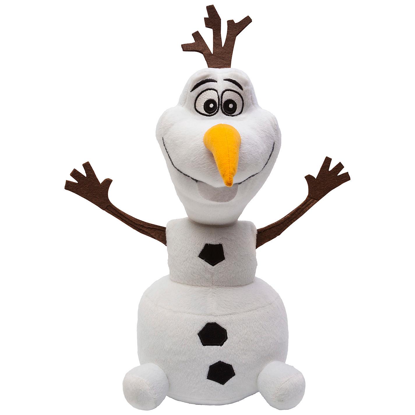 Мягкая игрушка - Снеговик Олаф, герой из м/ф Холодное Сердце, звуковые эффектыКуклы холодное сердце<br>Мягкая игрушка - Снеговик Олаф, герой из м/ф Холодное Сердце, звуковые эффекты<br>