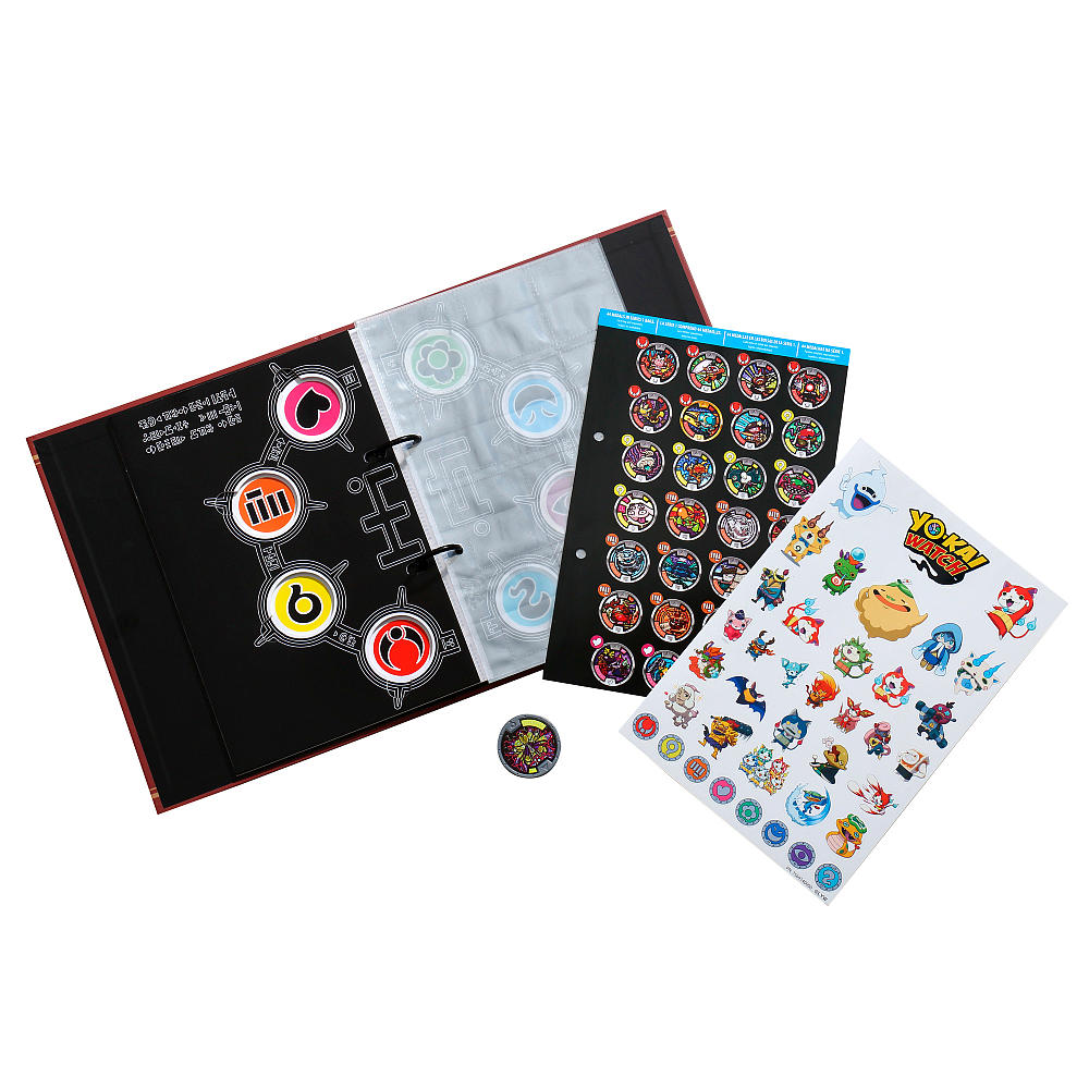 Альбом Коллекционера из серии Yokai WatchЙо-Кай Вотч (Yokai Watch)<br>Альбом Коллекционера из серии Yokai Watch<br>