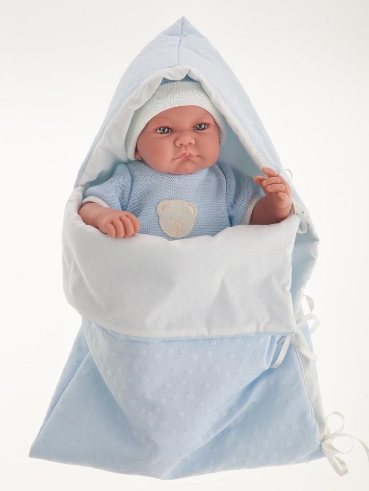 Интерактивная кукла Ферран в голубом, 40 см