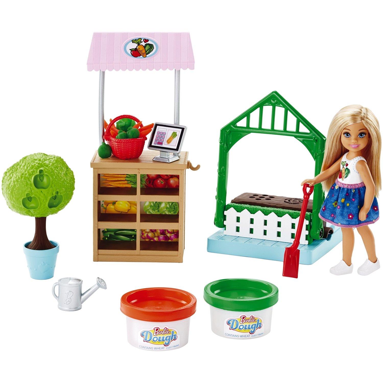 Купить Игровой набор Barbie® - Овощной сад Челси, Mattel