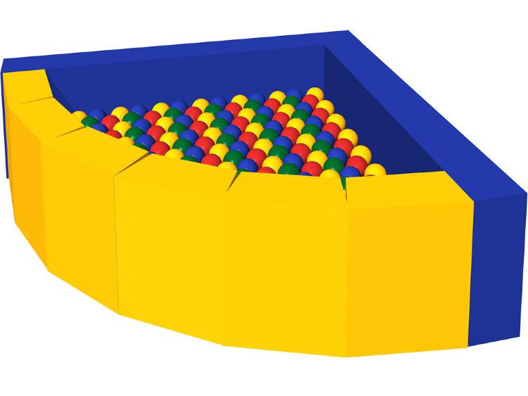 Сухой бассейн – Фасолька, 300 шаровСухой бассейн<br>Сухой бассейн – Фасолька, 300 шаров<br>