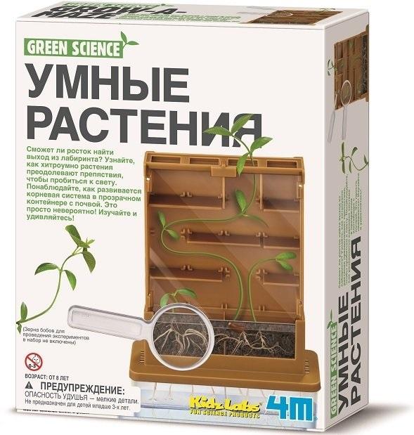 Набор для экспериментов - Умные растенияЮный физик<br>Набор для экспериментов - Умные растения<br>