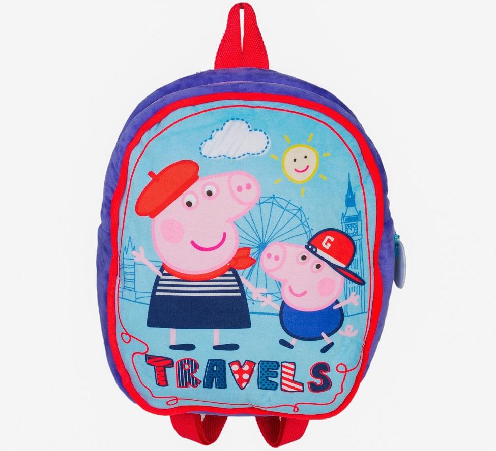 Купить Рюкзачок детский Peppa Pig - Свинка Пеппа, Росмэн