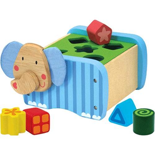 Деревянная игрушка сортер СлонРамки и паззлы<br>Деревянная игрушка сортер Слон<br>