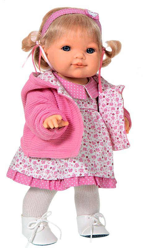 Кукла Эвита в розовом 38 см