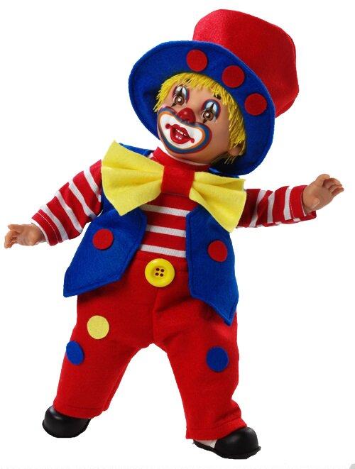 Купить Мягконабивная кукла из серии Arias Elegance – Клоун, 38 см., в коробке