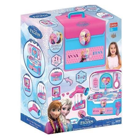 Игровой чемоданчик красоты  Холодное сердце - Юная модница, салон красоты, артикул: 166065