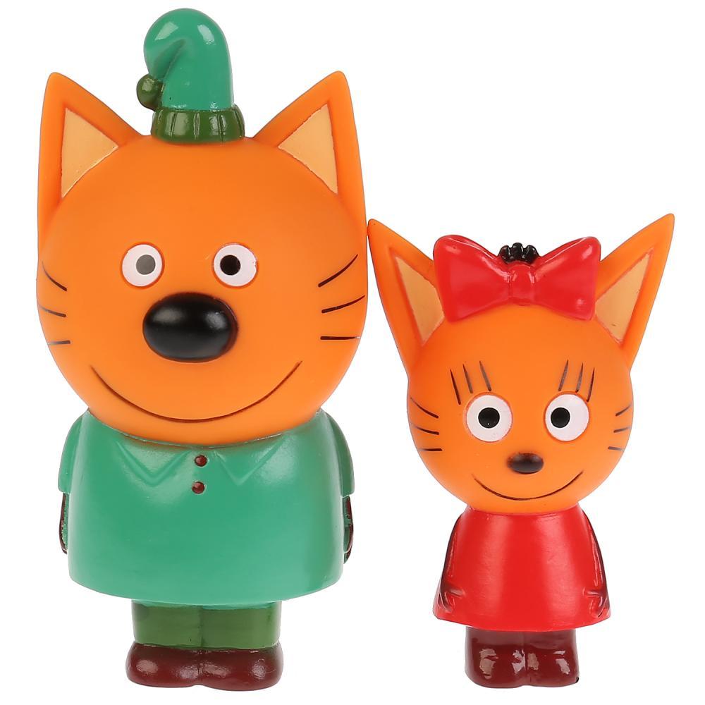 Купить Набор из 2-х игрушек для ванны серия Три Кота: Карамелька и Компот, Капитошка
