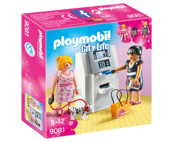 Купить Игровой набор из серии Шопинг: Банкомат, Playmobil
