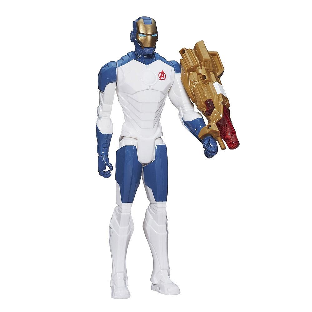 Купить Фигурка из серии Avengers Титаны - Железный человек, световые эффекты, 30 см., Hasbro