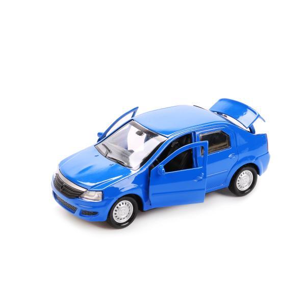 Купить Металлическая инерционная машина - Renault Logan, 12 см, Технопарк