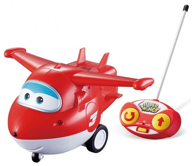 Самолет Джетт из серии Супер Крылья на радиоуправленииСупер Крылья Super Wings<br>Самолет Джетт из серии Супер Крылья на радиоуправлении<br>