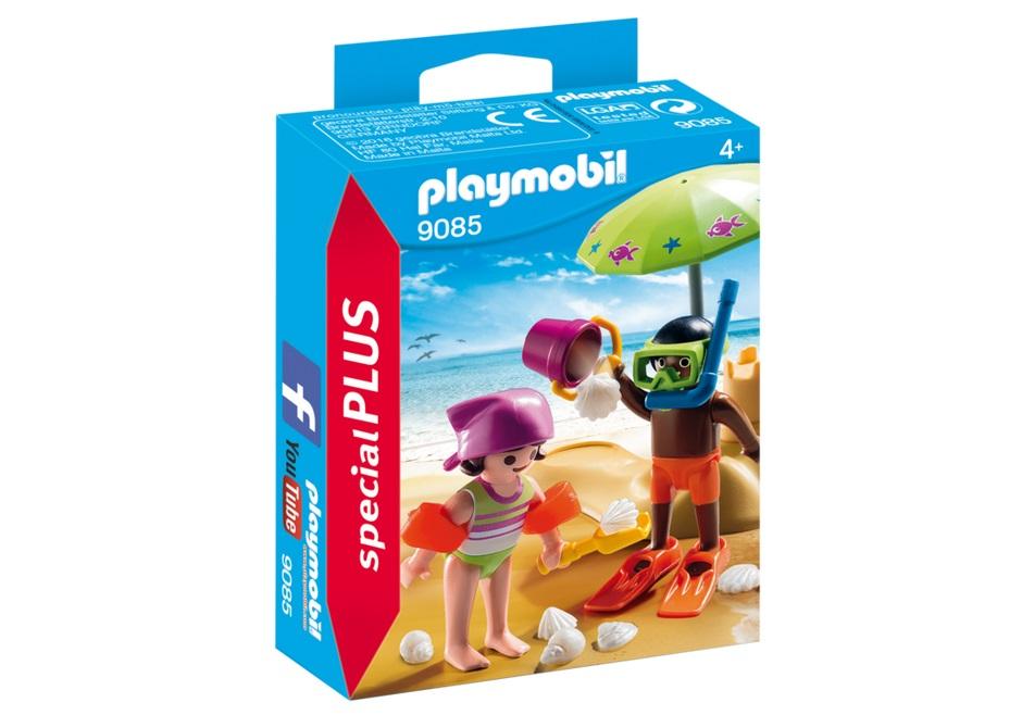 Купить Игровой экстра-набор: Дети на пляже, Playmobil