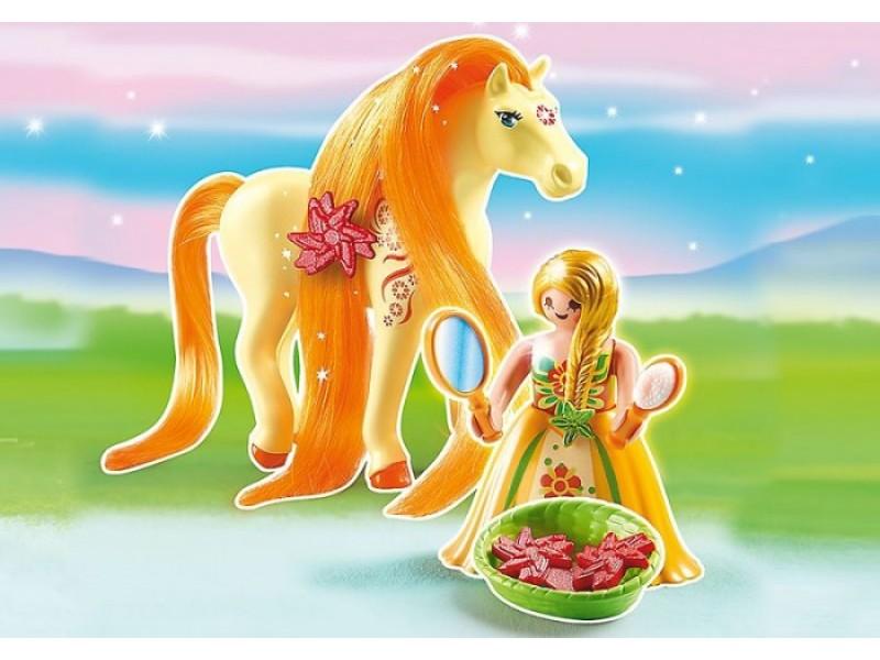 Купить Игровой набор Принцессы - Принцесса Санни с Лошадкой, Playmobil
