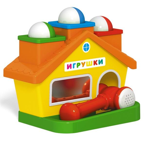 Стучалка  Домик - Деревянные игрушки, артикул: 164032