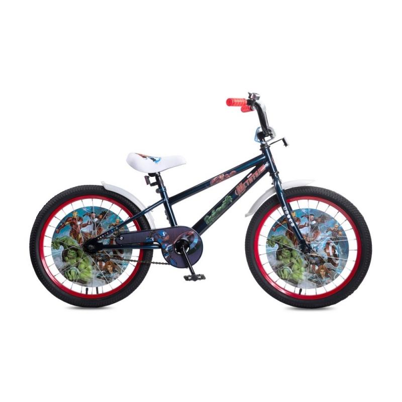 Купить Детский велосипед Marvel Мстители, колеса 20 , стальная рама и обода, ножной тормоз, Navigator