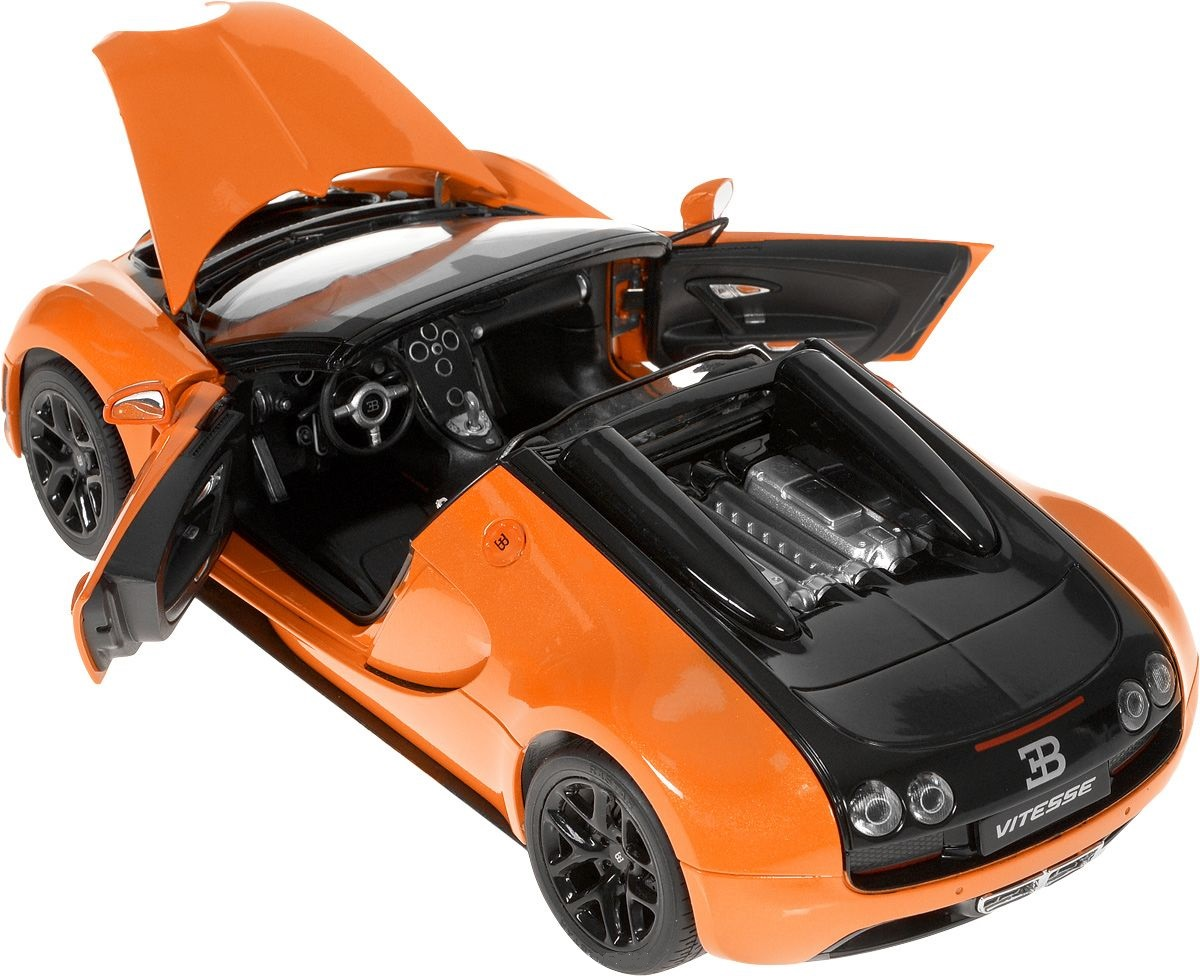 Bugatti Grand Sport Vitesse, металлическая модель, масштаб 1:18Bugatti<br>Bugatti Grand Sport Vitesse, металлическая модель, масштаб 1:18<br>