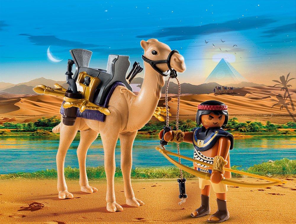 Купить Игровой набор из серии Римляне и Египтяне: Египетский воин с верблюдом, Playmobil