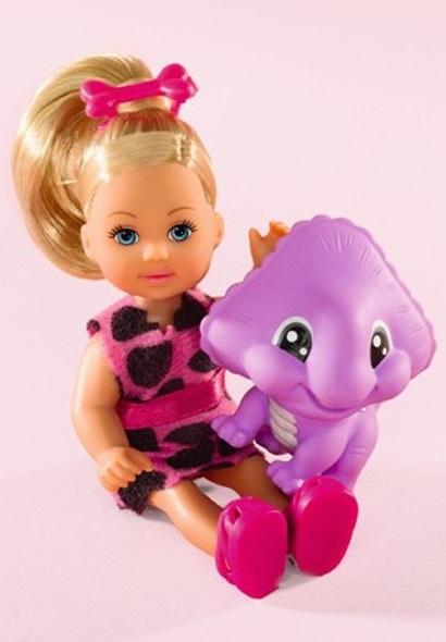 Кукла Еви с динозаврикомКуклы Еви<br>Кукла Еви с динозавриком<br>