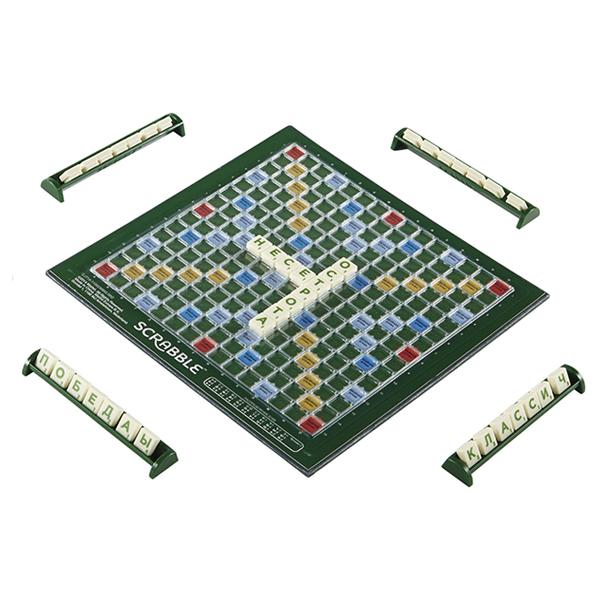 Настольная игра Scrabble® дорожный, обновленный Mattel