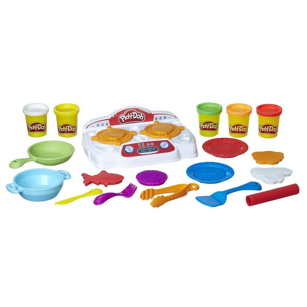 Игровой набор Play-Doh Кухонная плитаПластилин Play-Doh<br>Игровой набор Play-Doh Кухонная плита<br>